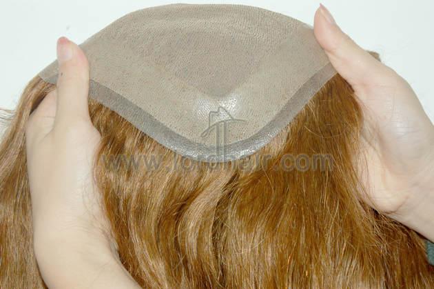silk mono skin perimeter hair replacement system